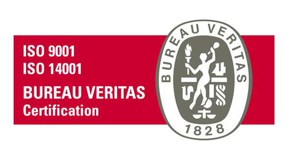 ISO9001 ISO14001 BUREAU VERITAS Certification