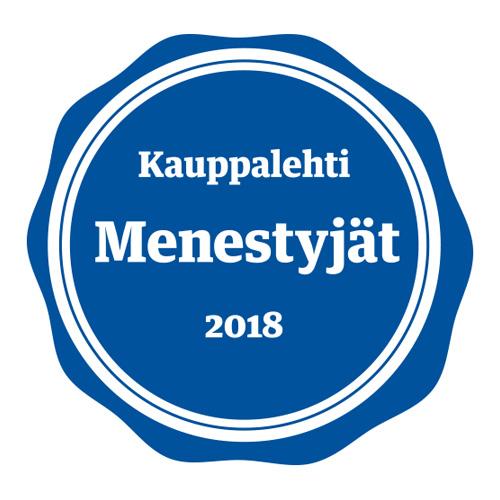 Kauppalehti Menestyjät 2018
